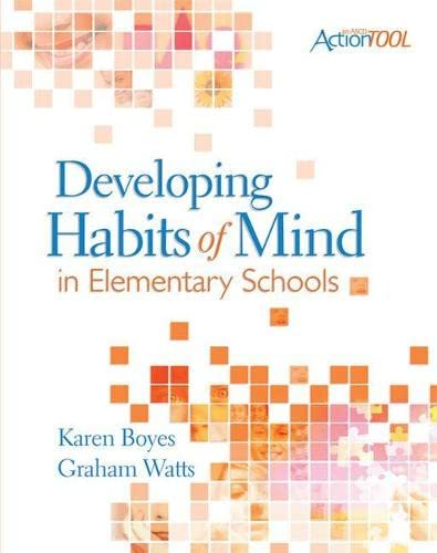 9781416608875: Developing Habits of Mind in Elementary Schools (ASCD ActionTool (Paperback))