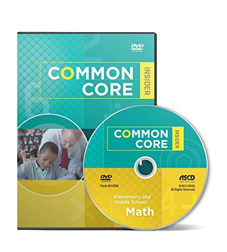 9781416617679: The Common Core Insider: Elementary And Middle School Math DVD
