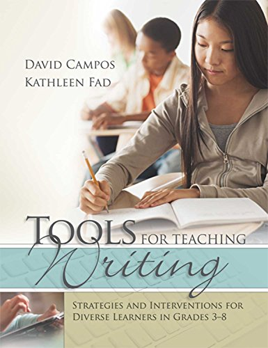 9781416619048: Tools for Teaching Writing: Strategies and Interventions for Diverse Learners in Grades 3-8