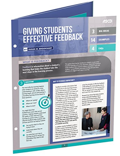 Giving Students Effective Feedback