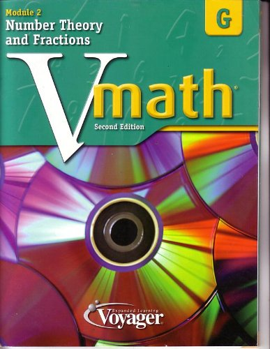 9781416860280 - Staff: Vmath 2nd Edition Module 2, Level D Number Theory and Fractions - Book