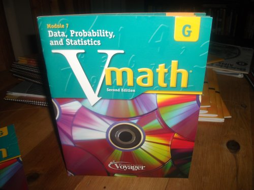 9781416860334 - N/A: Vmath Level G 2nd Ed. Module 7 Data, Probablility, and Statistics - Book