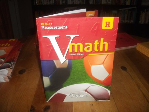 9781416860402 - Vmath Level H Module 6 Measurement Student Work Book - Book