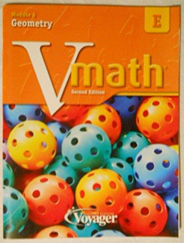 9781416861393: Vmath Second Edition E Module 6 Geometry