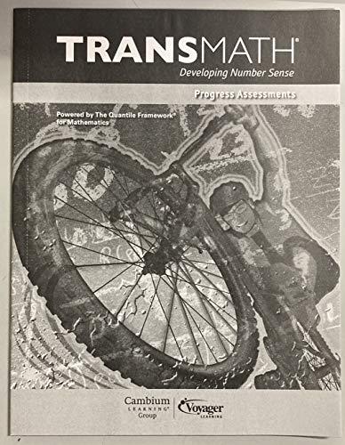 9781416876335: Transmath Developing Number Sense Progress Assessments