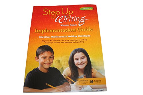 Step up to Writing Implementation Guide Grdes K-5