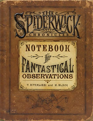 9781416901372: Spiderwick's Notebook for Fantastical Observations (SPIDERWICK CHRONICLE)