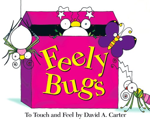 9781416903260: Feely Bugs (Mini Edition): To Touch and Feel