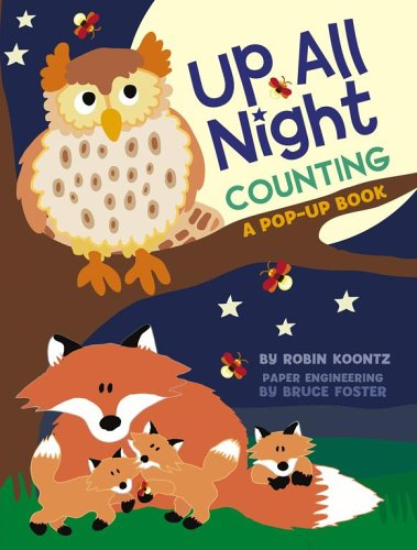 9781416907060: Up All Night Counting: A Pop-up Book