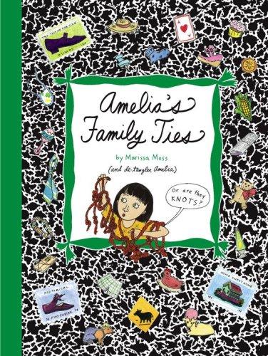 9781416909149: Amelia's Family Ties