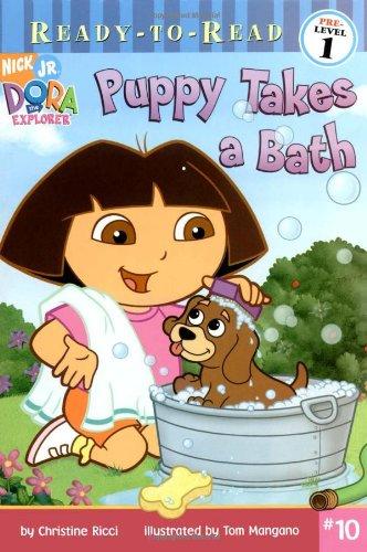 9781416914839: Puppy Takes a Bath (Dora the Explorer Ready-to-Read pre level 1)