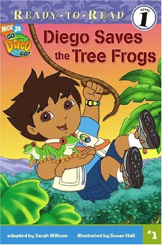9781416915744: Diego Saves the Tree Frogs (Go, Diego, Go! Ready-to-Read)
