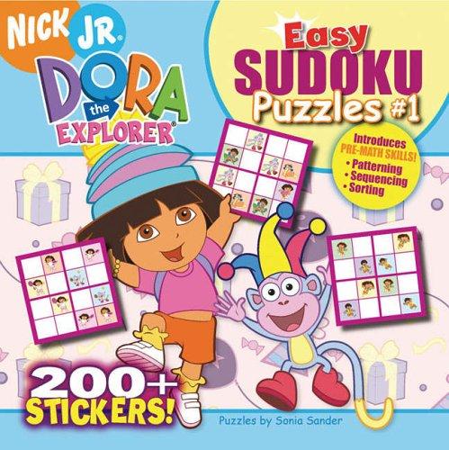 9781416917175: Easy Sudoku Puzzles 1 (Dora the Explorer)