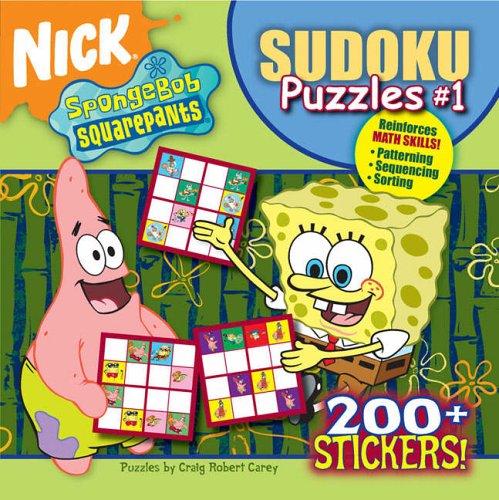 9781416917182: Easy Sudoku Puzzles 1 (SpongeBob SquarePants)
