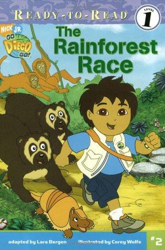 The Rainforest Race (2) (Go, Diego, Go!): Lara Bergen