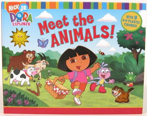 9781416918196: Meet the Animals! (Dora the Explorer (Simon & Schuster Board Books))