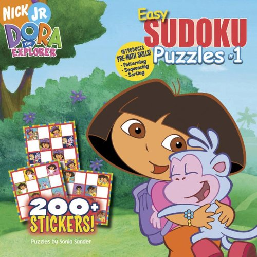 Easy Sudoku Puzzles #1 (Dora the Explorer (Simon Spotlight)) (1416924299) by Sonia Sander