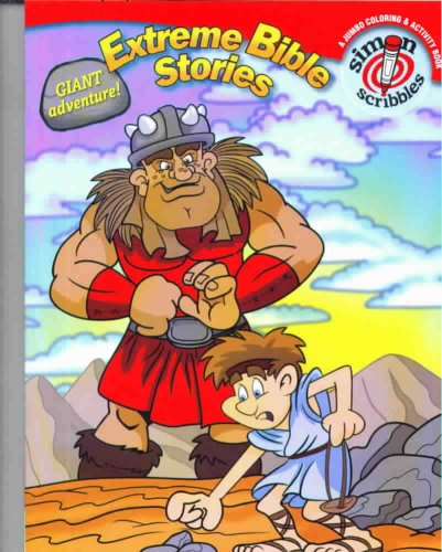 9781416925668: Extreme Bible Stories Giant Adventure! A Jumbo Coloring and Activity Book