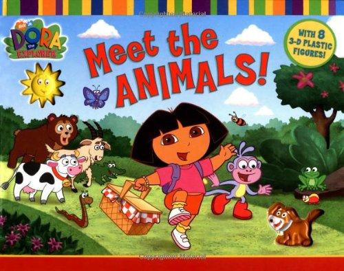 9781416926351: Meet the Animals (Dora the Explorer)