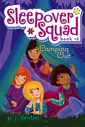 9781416927914: Camping Out (Sleepover Squad #2)