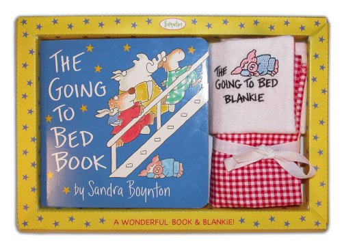 9781416927945: Sandra Boynton's the Going to Bed Book! & Embroidered Blankie
