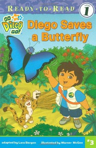 9781416933649: Diego Saves a Butterfly (Go, Diego, Go!)