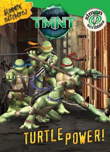 9781416934134: Teenage Mutant Ninja Turtles: Turtle Power! [With Slammin' Stickers and Turtles Finger Puppets]