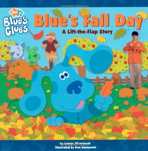 9781416934363: Blue's Fall Day: A Lift-the-Flap Story (Blue's Clues)