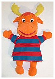 9781416935155: Meet Tyrone!: A Hand-Puppet Cloth Book (Backyardigans)
