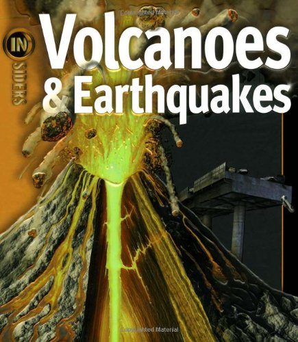 9781416938620: Volcanoes & Earthquakes (Insiders)