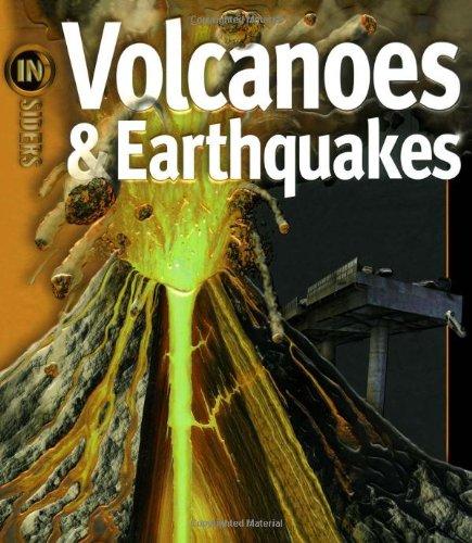 9781416938620: Volcanoes & Earthquakes (Insiders)