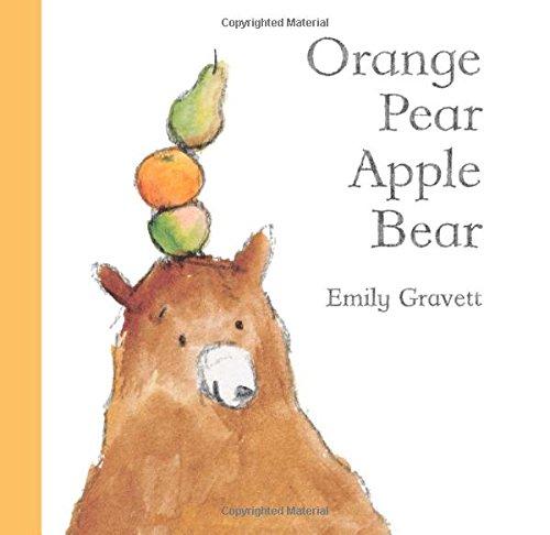 9781416939993: Orange Pear Apple Bear