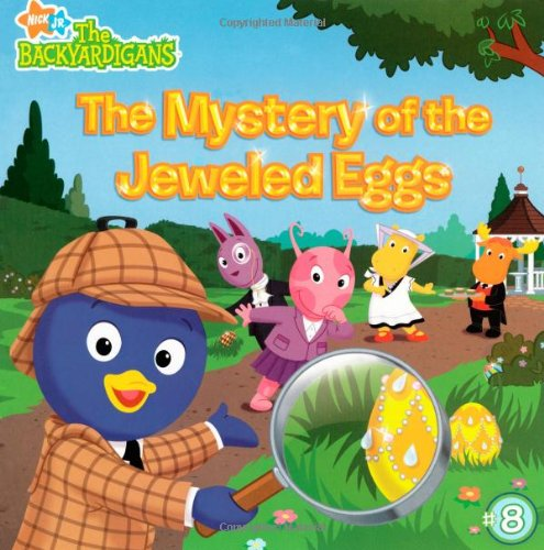 9781416940708: The Mystery of the Jeweled Eggs (The Backyardigans)