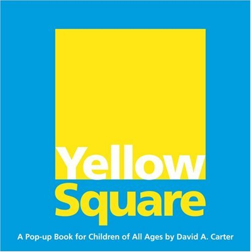 9781416940937: Yellow Square: A Pop-Up Book for Children of All Ages
