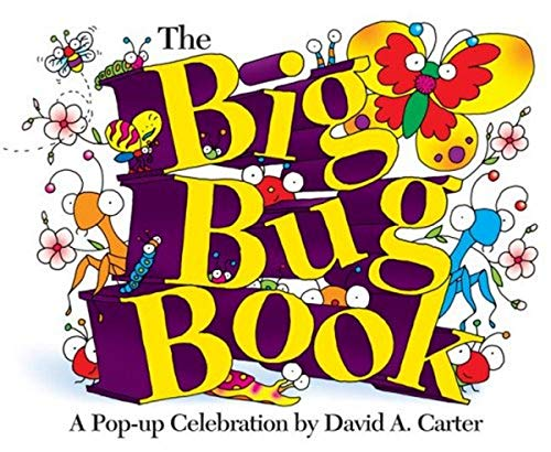 9781416940951: The Big Bug Book: A Pop-up Celebration by David A. Carter