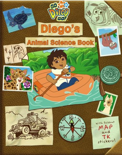 Diego's Animal Science Book (Go Diego Go!: McMahon, Kara, Artful