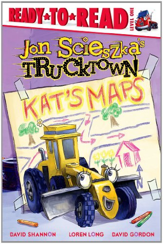 Kat's Maps (Ready-To-Read Jon Scieszka's Trucktown - Level 1 (Library)): Scieszka, Jon