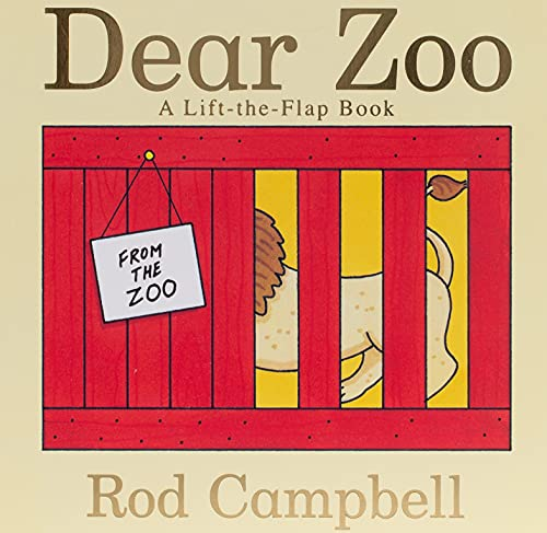 9781416947370: Dear Zoo: A Lift-the-flap Book