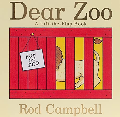 9781416947370: Dear Zoo: A Lift-the-flap Book