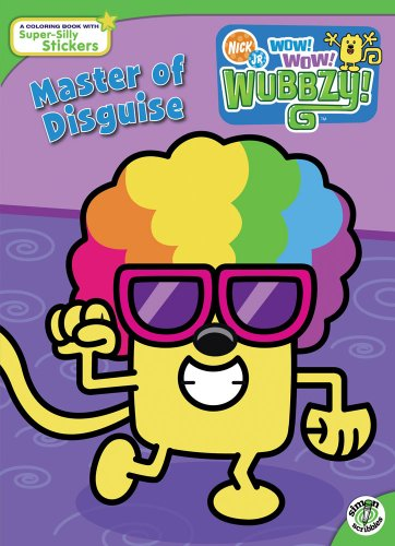 Master of Disguise (Wow! Wow! Wubbzy!) (1416947914) by Sonia Sander