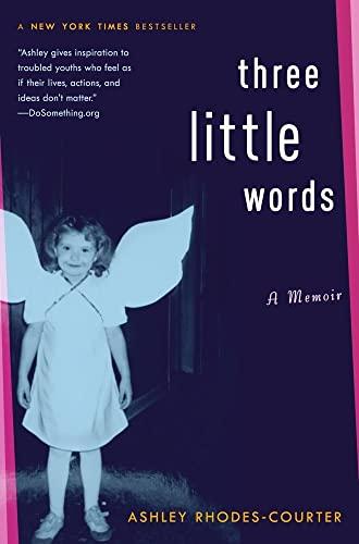 9781416948063: Three Little Words: A Memoir