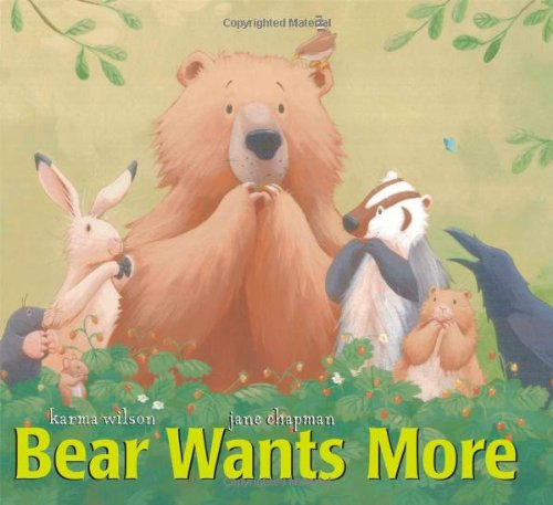 9781416949220: Bear Wants More (The Bear Books)