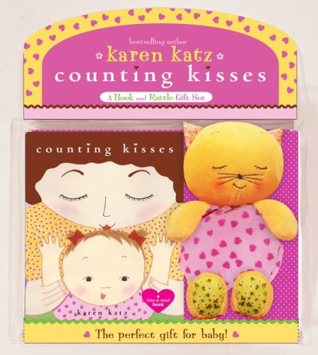 9781416949343: Counting Kisses: A Book and Rattle Gift Set [With Kitty Cat Rattle]