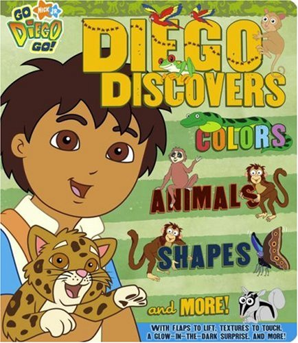 Diego Discovers Colors, Animals, Shapes & More: McMahon, Kara