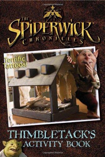 9781416949541: Thimbletack's Activity Book (The Spiderwick Chronicles)