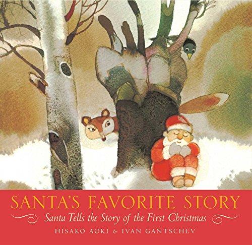 9781416950295: Santa's Favorite Story: Santa Tells the Story of the First Christmas