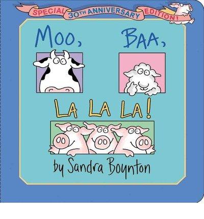 9781416950356: Sandra Boynton's Moo, Baa, La La La!: Book, Plush & Mini Book