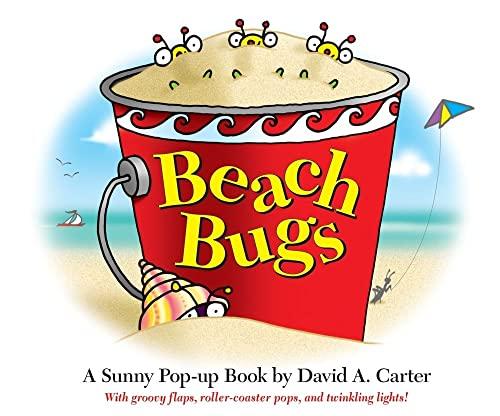 9781416950554: Beach Bugs: A Sunny Pop-up Book by David A. Carter (David Carter's Bugs)