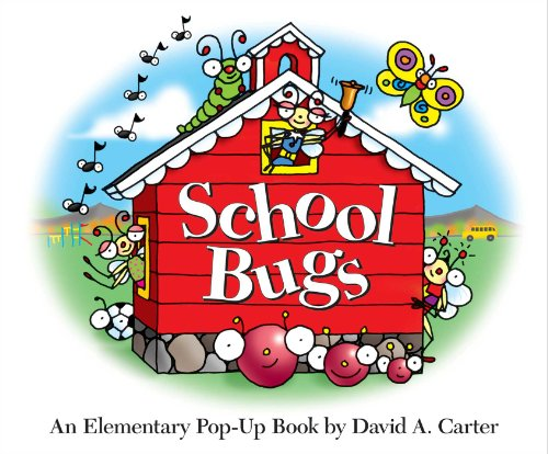 9781416950561: School Bugs: An Elementary Pop-up Book by David A. Carter