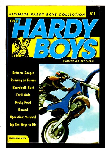 9781416950967: Hardy Boys: All New Undercover Brothers 1-8: #1 Ultimate Collection with Extreme Danger/Running on Fumes/Boardwalk Best/Thrill Ride/Rocky Road/Burned/Operation: Survival/Top Ten Ways to Die